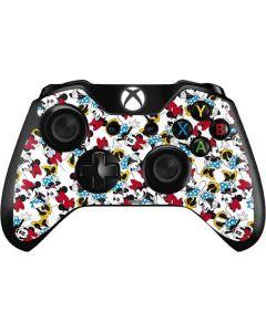 Rockin Minnie Mouse Xbox One Controller Skin