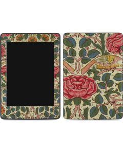 Rose by William Morris Amazon Kindle Skin
