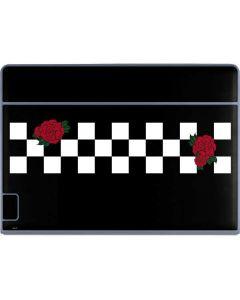 Rose Checkerboard Galaxy Book Keyboard Folio 12in Skin