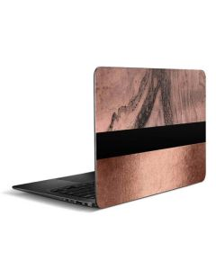 Rose Gold and Black Marble Zenbook UX305FA 13.3in Skin