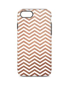 Rose Gold Chevron iPhone 8 Pro Case