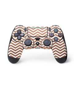Rose Gold Chevron PS4 Pro/Slim Controller Skin