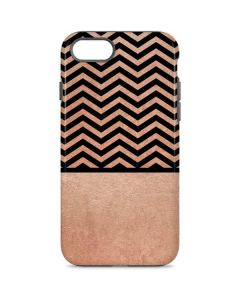 Rose Gold Chevron Split iPhone 7 Pro Case