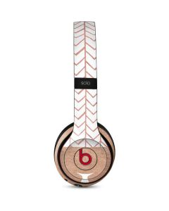Rose Gold Herringbone Beats Solo 3 Wireless Skin