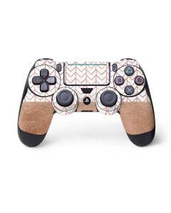 Rose Gold Herringbone PS4 Pro/Slim Controller Skin