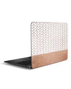 Rose Gold Herringbone Zenbook UX305FA 13.3in Skin