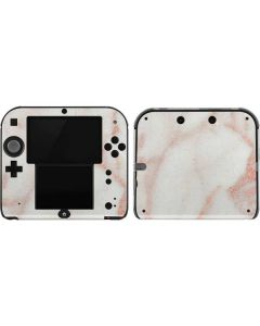 Rose Gold Marble 2DS Skin