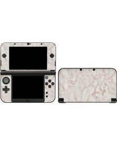 Rose Gold Marble 3DS XL 2015 Skin
