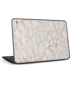 Rose Gold Marble HP Chromebook Skin