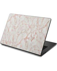 Rose Gold Marble Dell Chromebook Skin