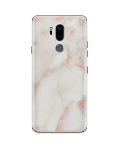 Rose Gold Marble G7 ThinQ Skin