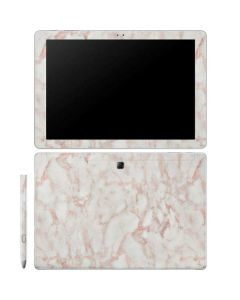 Rose Gold Marble Galaxy Book 10.6in Skin