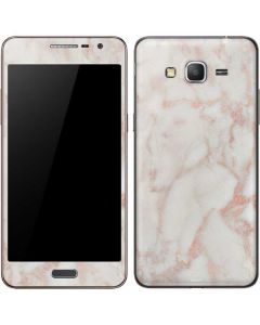 Rose Gold Marble Galaxy Grand Prime Skin