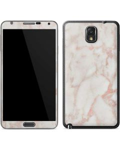 Rose Gold Marble Galaxy Note 3 Skin