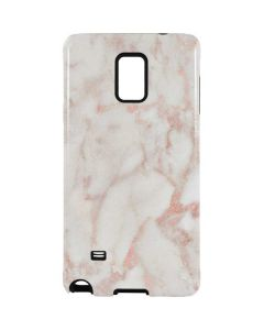 Rose Gold Marble Galaxy Note 4 Pro Case