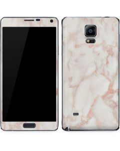 Rose Gold Marble Galaxy Note 4 Skin