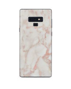 Rose Gold Marble Galaxy Note 9 Skin