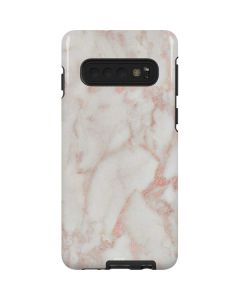 Rose Gold Marble Galaxy S10 Pro Case