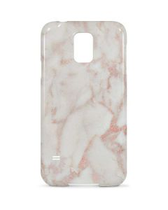 Rose Gold Marble Galaxy S5 Lite Case