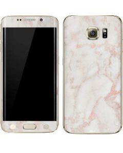 Rose Gold Marble Galaxy S6 edge+ Skin