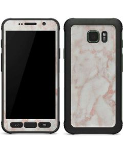 Rose Gold Marble Galaxy S7 Active Skin