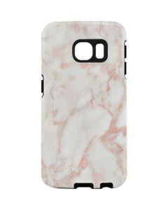 Rose Gold Marble Galaxy S7 Edge Pro Case