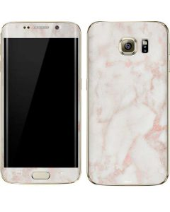Rose Gold Marble Galaxy S7 Edge Skin