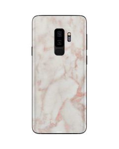Rose Gold Marble Galaxy S9 Plus Skin
