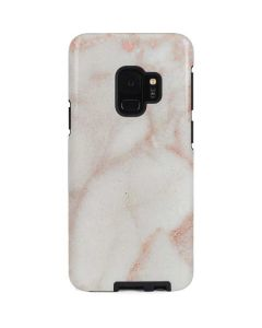 Rose Gold Marble Galaxy S9 Pro Case