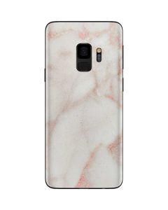 Rose Gold Marble Galaxy S9 Skin