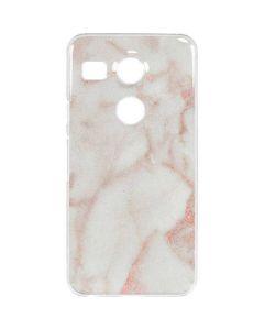 Rose Gold Marble Google Nexus 5X Clear Case