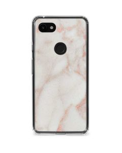 Rose Gold Marble Google Pixel 3a XL Clear Case