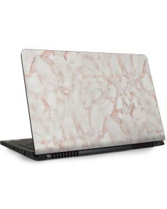 Rose Gold Marble Dell Inspiron Skin