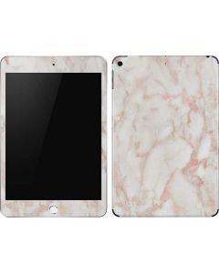 Rose Gold Marble Apple iPad Mini Skin