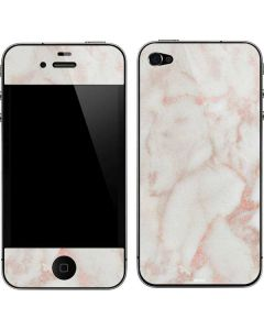 Rose Gold Marble iPhone 4&4s Skin