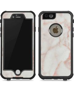 Rose Gold Marble iPhone 6/6s Waterproof Case