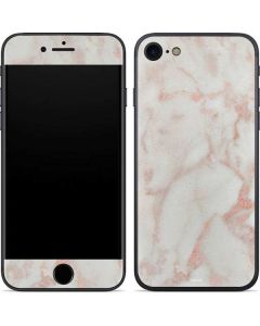 Rose Gold Marble iPhone 7 Skin