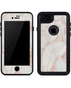 Rose Gold Marble iPhone 7 Waterproof Case
