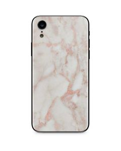 Rose Gold Marble iPhone XR Skin