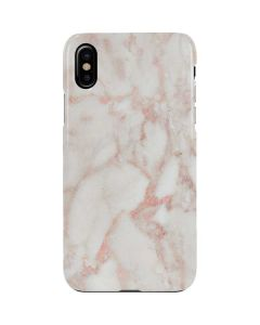 Rose Gold Marble iPhone XS Lite Case