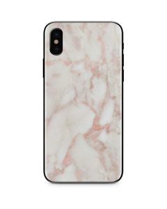 Rose Gold Marble iPhone XS Max Skin
