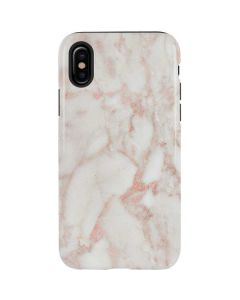 Rose Gold Marble iPhone XS Pro Case