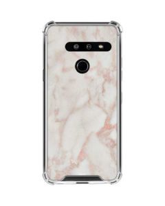 Rose Gold Marble LG G8 ThinQ Clear Case