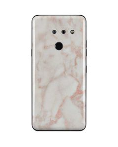Rose Gold Marble LG G8 ThinQ Skin