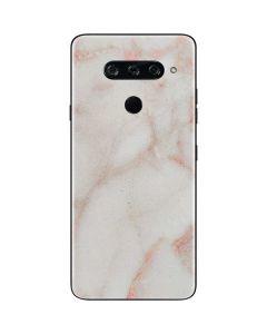 Rose Gold Marble LG V40 ThinQ Skin