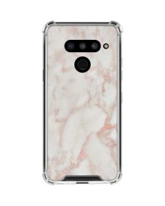 Rose Gold Marble LG V50 ThinQ Clear Case