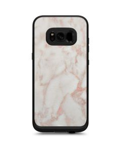 Rose Gold Marble LifeProof Fre Galaxy Skin