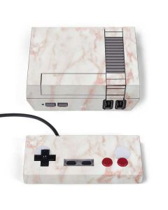 Rose Gold Marble NES Classic Edition Skin