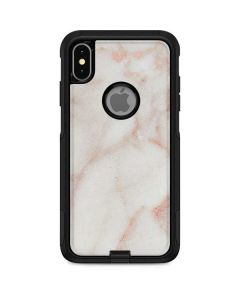 Rose Gold Marble Otterbox Commuter iPhone Skin
