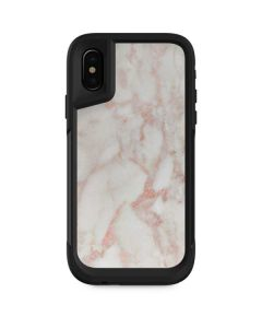 Rose Gold Marble Otterbox Pursuit iPhone Skin